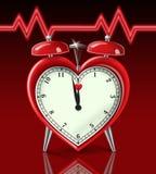 Alarma del ataque del corazón Foto de archivo libre de regalías