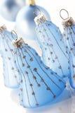 Alarma del azul de la Navidad Foto de archivo libre de regalías