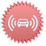 Alarma del coche ilustración del vector