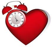 Alarma del corazón Fotografía de archivo libre de regalías