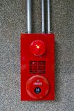 Alarma del fuego Imagen de archivo libre de regalías