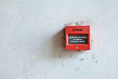 Alarma del fuego Foto de archivo