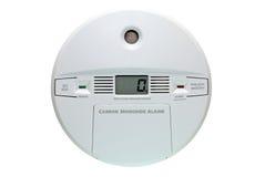Alarma del monóxido de carbono Fotografía de archivo
