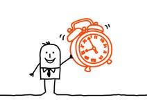Alarma del reloj Imagen de archivo
