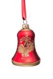 Alarma del rojo de la Navidad Imágenes de archivo libres de regalías