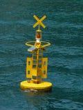 Alarma del tsunami Imagenes de archivo