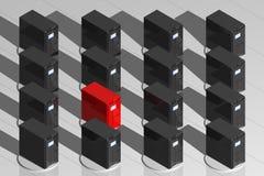 Alarma del virus Imagen de archivo libre de regalías