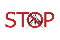 Alarma del virus de Zika Imagen de archivo libre de regalías