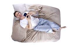 Alarma el dormitar Foto de archivo