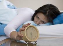Alarma - foco en alarma Imagen de archivo