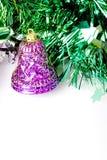 Alarma púrpura en verde foto de archivo libre de regalías