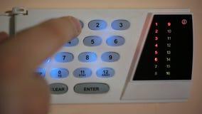 Alarma para la protección almacen de metraje de vídeo