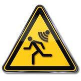 Alarmanlage, Warnung und Sirene lizenzfreie abbildung
