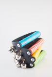 Alarmas coloridas Imágenes de archivo libres de regalías