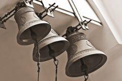 Alarmas de iglesia Imagen de archivo libre de regalías