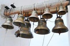 Alarmas de iglesia viejas imagen de archivo libre de regalías
