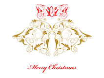 Alarmas de la Navidad Foto de archivo libre de regalías