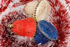 Alarmas de la Navidad Imágenes de archivo libres de regalías