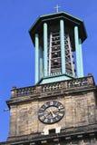 Alarmas de la torre de Aegidienkirche Imágenes de archivo libres de regalías