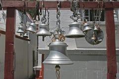 Alarmas del templo, la India fotos de archivo