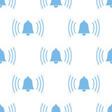 Alarmclock seamless pattern Stock Images