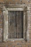 Alarme antique, fenêtre images stock