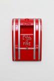Alarme d'incendie Photographie stock