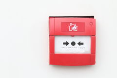 Alarme d'incendie Photos stock