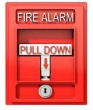 Alarme de incêndio ilustração royalty free