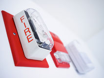 Alarme de incêndio Fotos de Stock Royalty Free