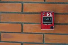 Alarme de incêndio Imagens de Stock
