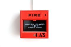 Alarme de incêndio Fotografia de Stock Royalty Free