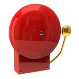 Alarme de incêndio vermelho ilustração royalty free