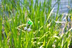 Alarme de morsure de pêche Photo stock