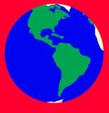 Alarme de planète de la terre Photos stock