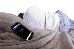 Alarme de sommeiller Photographie stock libre de droits
