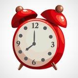 Alarme do vermelho dos desenhos animados Imagem de Stock