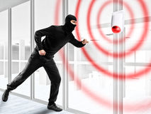Alarme para roubar um ladrão Foto de Stock