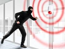 Alarme pour voler un voleur Photo stock