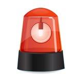 Alarme vermelho ilustração stock
