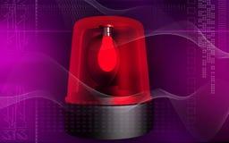 alarmnödlägelampa Royaltyfri Bild