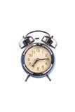 alarmowego tła zegaru stary biel Zdjęcia Royalty Free