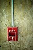 alarmowy ogień Obrazy Royalty Free