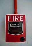 alarmowy ogień Obraz Stock