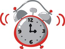 Alarmuhr vektor abbildung