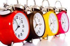 Alarmuhren Stockbild