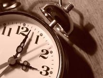 Alarmuhrfragment 1 lizenzfreies stockbild