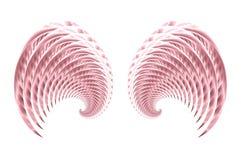 Alas 3 de la hada o del pájaro del ángel Fotografía de archivo libre de regalías