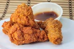 Alas de Fried Chicken Foto de archivo