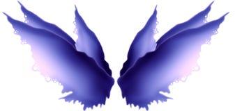 Alas de hadas Hued púrpuras ilustración del vector